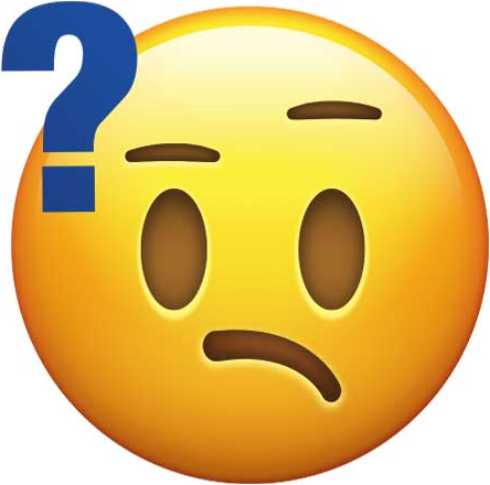 Confused Face with Question Mark