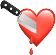 Heart with Knife